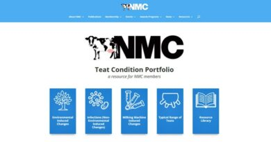 NMC Teat condition Portfolio